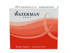 CARTUCCE WATERMAN LUNGHE STANDARD 8PZ ROSSO